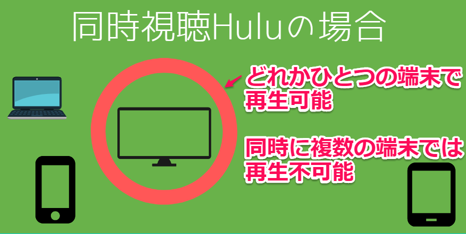Hulu同時視聴の画像