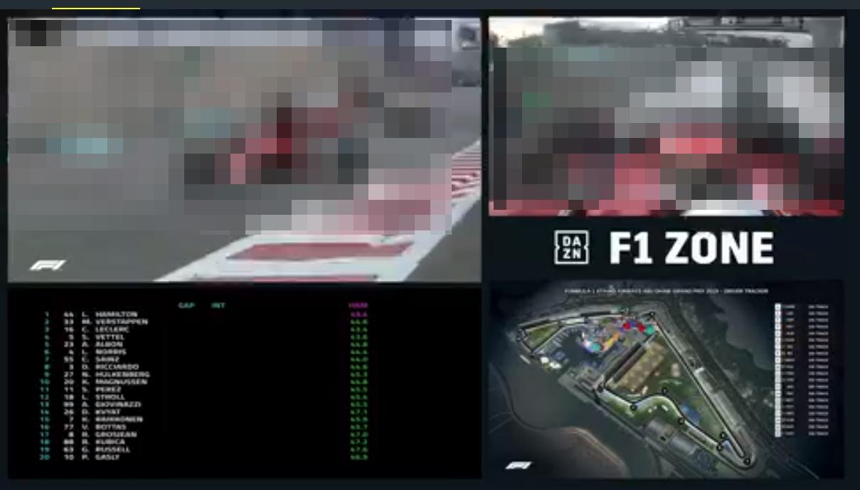 DAZN「F1 ZONE」画像